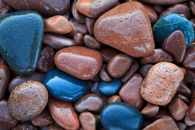 Water-Glossed Stones