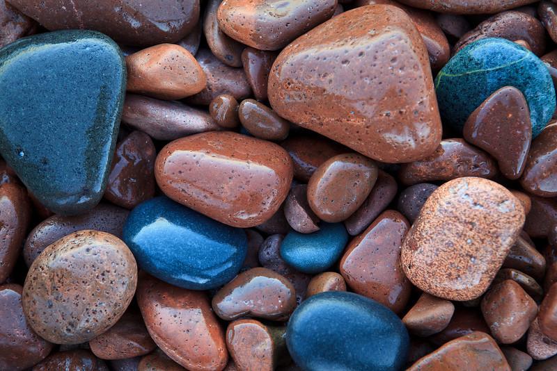 Water-Glossed Stones