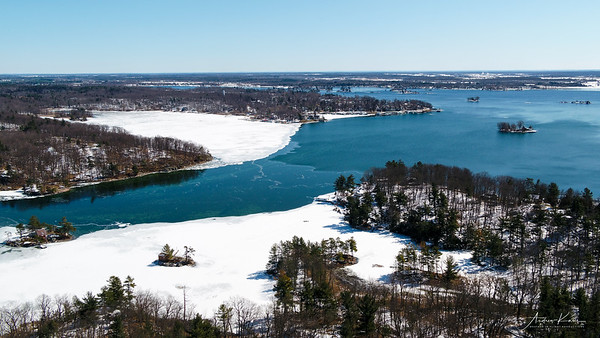 Winter Thousand Islands - St. Lawrence River