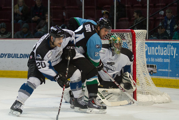 Idaho Steelheads vs Alaska Aces - 12.11.2013