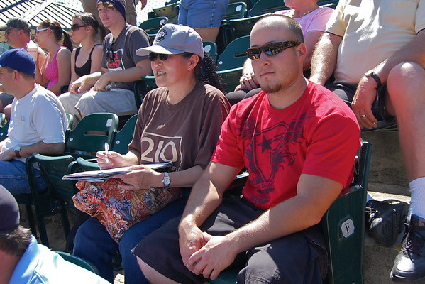 2009-04-19 Celebrating 210 First Year Anniversary at Rawhide Game