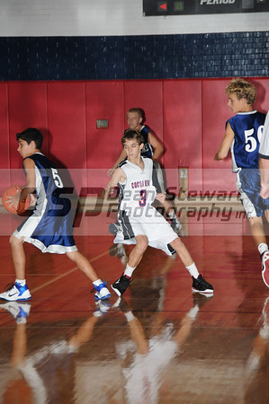 Cocoa Beach Boys Basketball 9/29/11