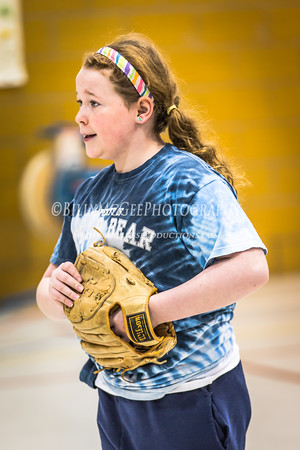 Catonsville Girls Softball Tryouts - 14 Mar 2015