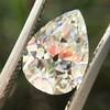 2.01ct Antique Pear Shape Diamond GIA G VS1 4
