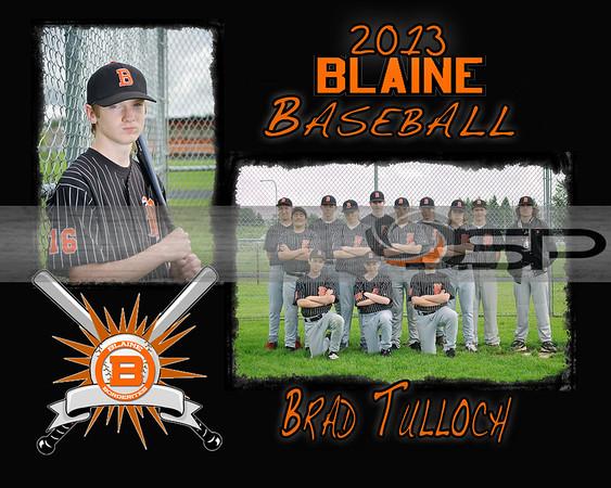 2013 Blaine 8th Grade Baseball - Team and Indiv