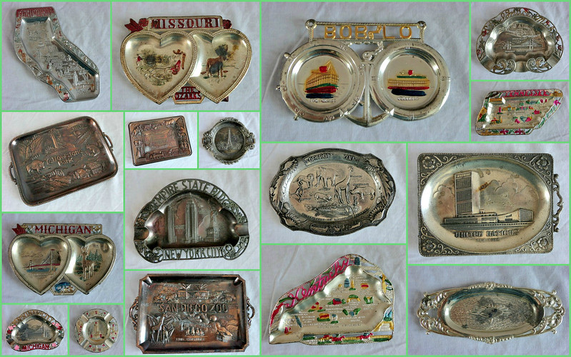 Vintage Out-of-Production Ash Trays