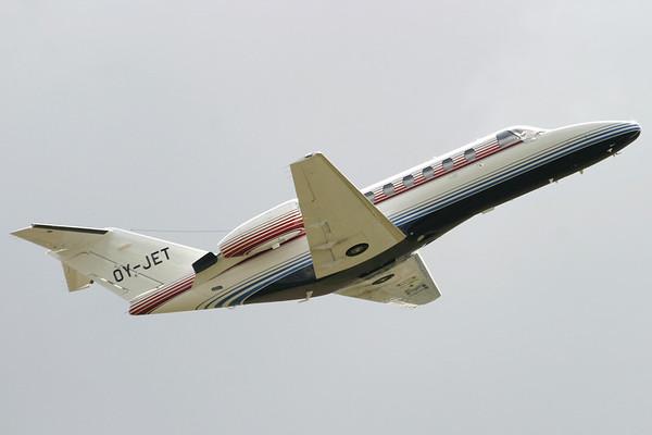 OY-JET - Cessna 525A CitationJet II