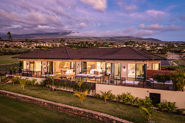 10.4.21 -]- Wailea Golf Estates Development - Beachology - Sunset Billboard and headshots