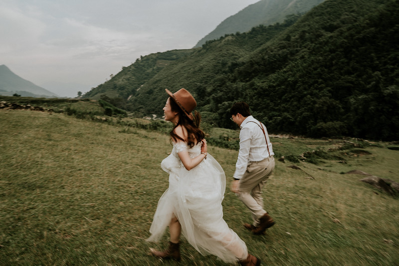 Sapa Elopement | L + V | Back to the Wild