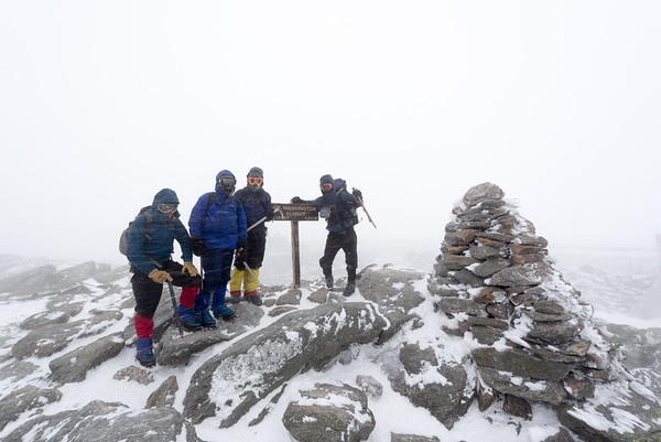 Mount Washington Winter Ascent 2014