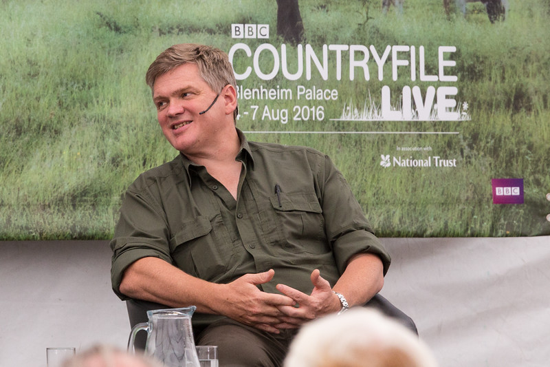 Ray Mears at BBC Countryfile Live 2016