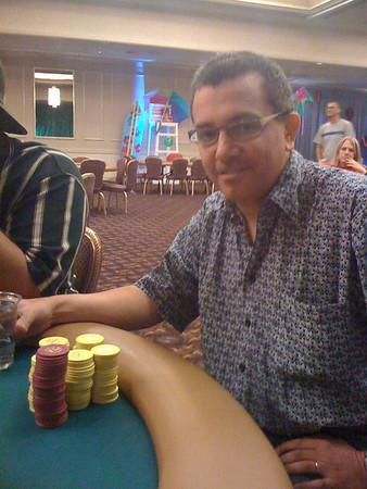 Jim's poker tourneyment win!