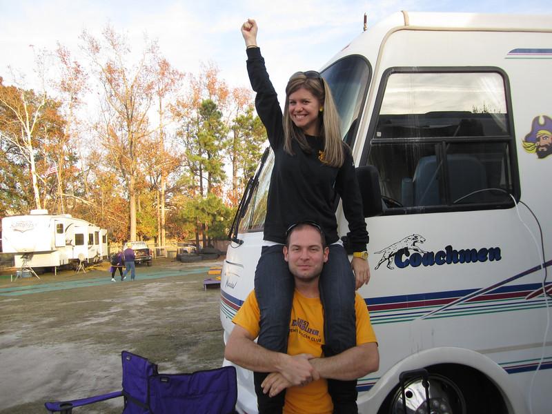 11/19/2011 ECU vs University of Central Florida - Jen, Jon