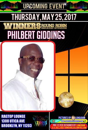 """PHILBERT GIDDINGS """"WINNERS ROUND ROBIN""""(13)"""