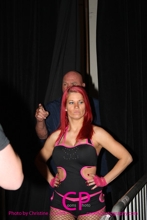 Sassy Stephanie with Superstar Billy Graham vs Davina Rose