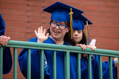 Notre Dame School of Dallas graduation 2021