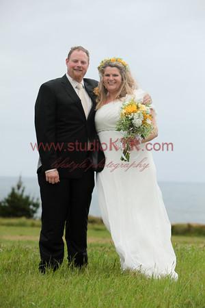 matt and Robyn wedding day