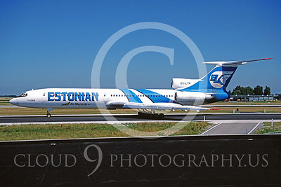 Estonian Airline Tupolev Tu-154 Airliner Pictures