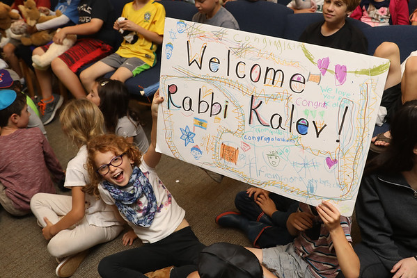 Rabbi Kalev Installation
