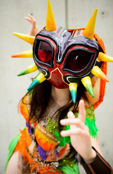 NYCC 2015 - Friday - Physics & Knives - Skull Kid
