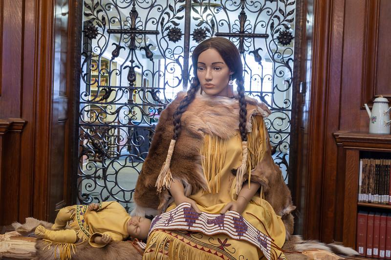Wampanoag Sculpture -- a Tribute to Wampanoag Heritage