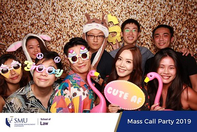 SMU School of Law Mass Call Party 2019