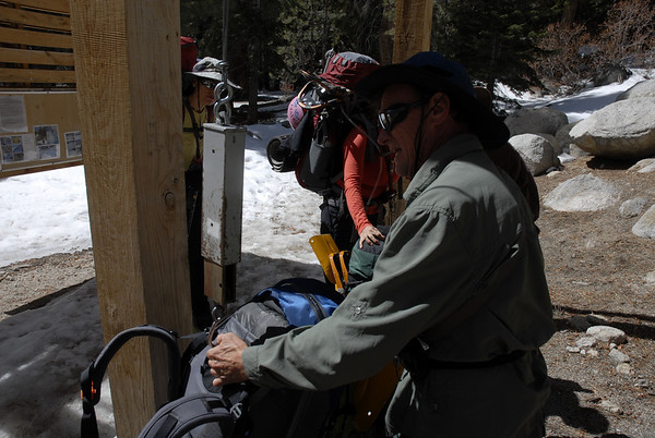 Mt. Whitney Mountaineer's Route March 26-29, 2009