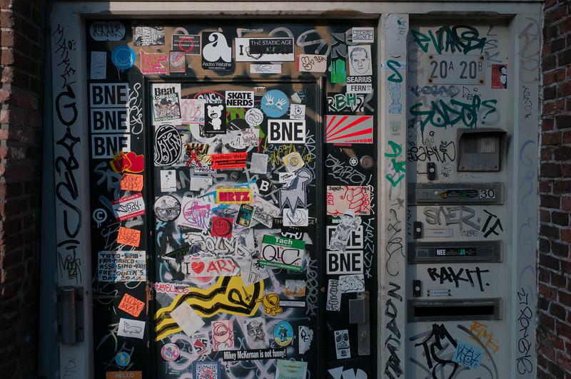 Graffiti in Amsterdam, Netherlands