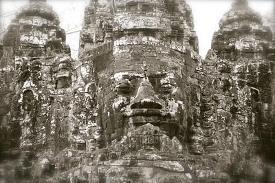 Cambodia b/w