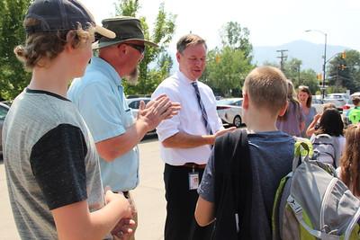 High Peaks Superintendent Visit Back to School 2018-08-15