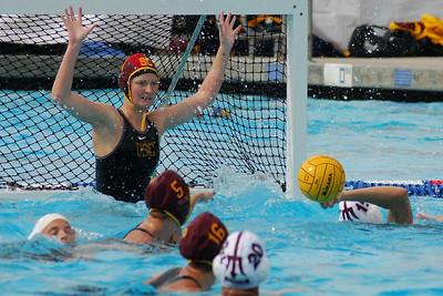 UCI Women's Water Polo Tournament 2009 - University of Southern California vs Arizona State University 2/21/09. USC vs ASU. Final score 13 to 4. Photos by Allen Lorentzen.