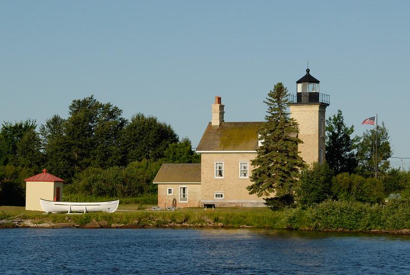 Ontonagon Light, Lake Superior