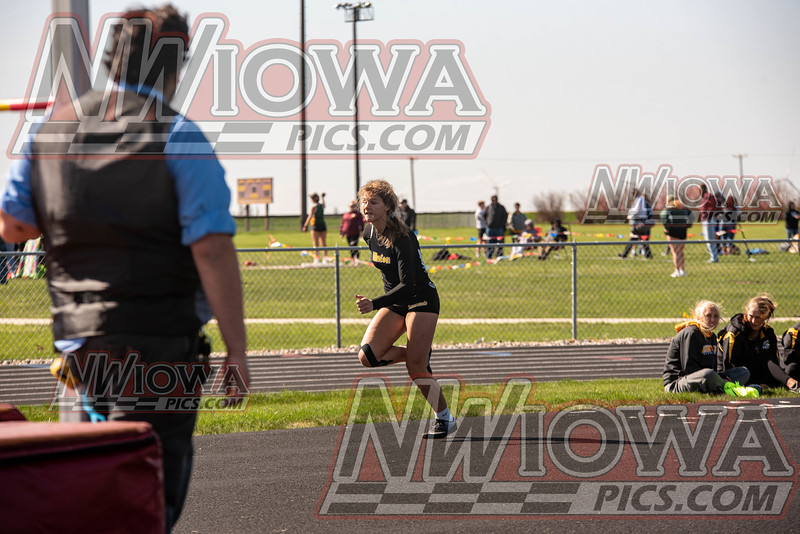 Hinton Girls Track - War Eagle Conference Track Meet 2021