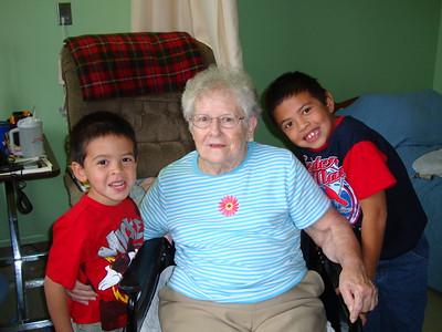 2010-11-21 Visit to Gramma Ruby Waddell