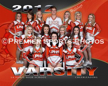 2011-12 La Porte High School Cheer