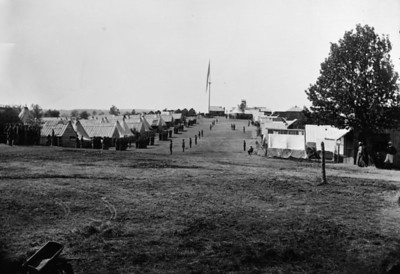 Troops in Camp
