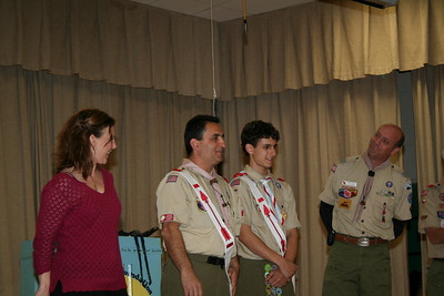 2008 November - Wood Badge Beading