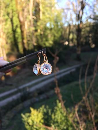 Georgian Era Paste Earrings