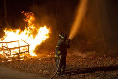1-3-12 Live Burn Drill