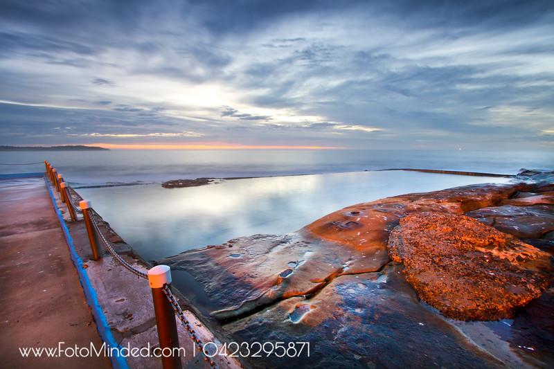 Dee Why rock pool, NSW, Australia