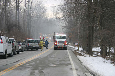 Pawling Rt. 292 Structure Fire - Jan. 22, 2008