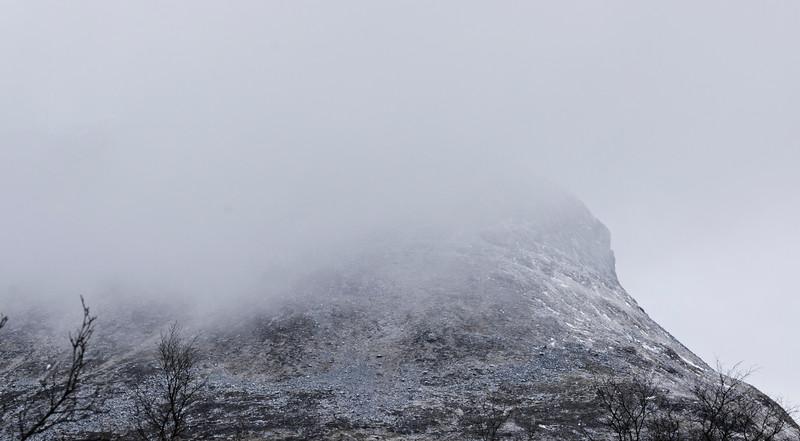 Saana in the Mist