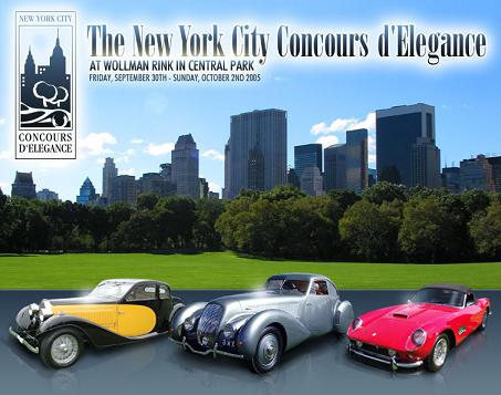 New York City Concours d'Elegance Gala Awards Dinner
