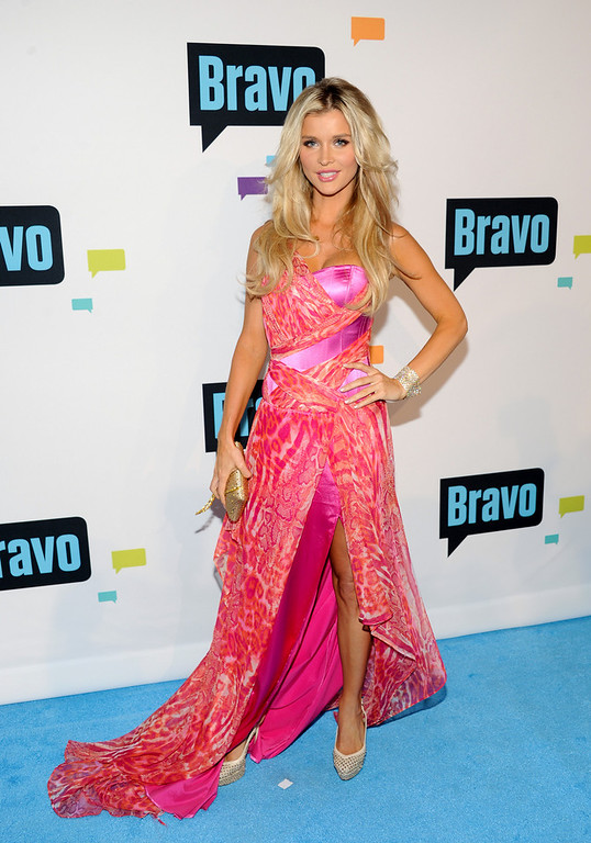 ". Joanna Krupa from ""The Real Housewives of Miami\"" attends the Bravo Network 2013 Upfront on Wednesday April 3, 2013 in New York. (Photo by Evan Agostini/Invision/AP)"