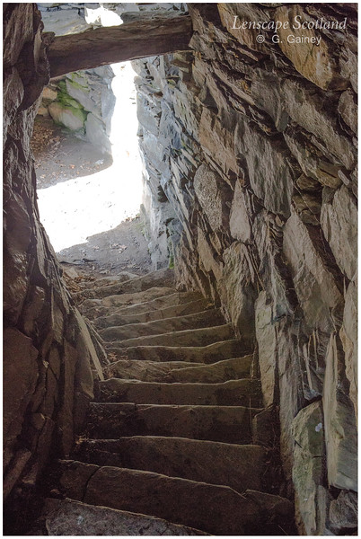 Dun Troddan broch, Gleann Beag (3)