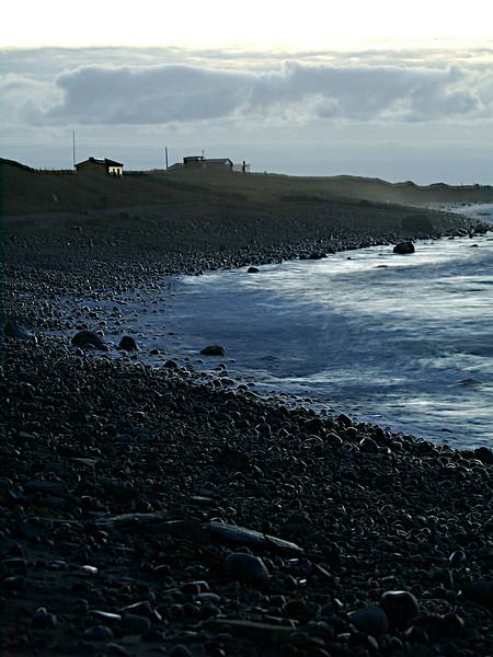 En siste utsikt over stranda. A last view of the beach. (Foto: Geir)