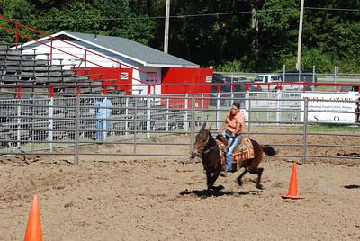 Women's Mule Race