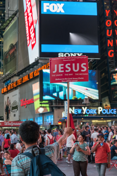 Times Square - New York, NY, USA - August 17, 2015