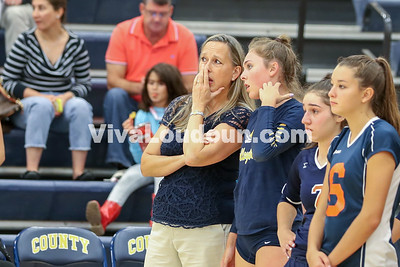 Volleyball: Briar Woods @ Loudoun County 8.29.2017 (By Jeff Scudder)