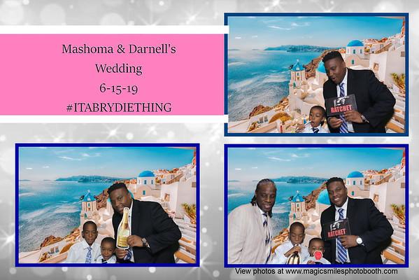 Mashoma & Darnell's Wedding  6-15-19 #ITABRYDIETHING